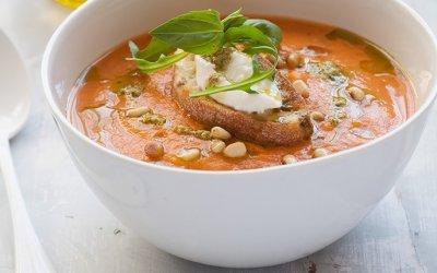 Soupe crème de tomates