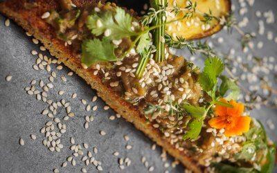 Caviar d'aubergines façon Thaï