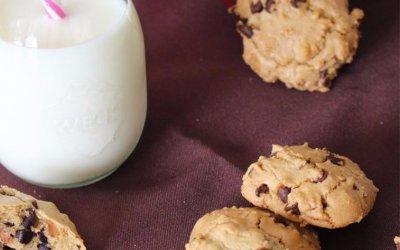 Cookies huile de noix de pécan et pépites de chocolat