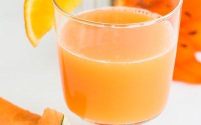 Jus de melon et d'orange