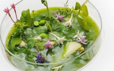 Soupe d'herbes
