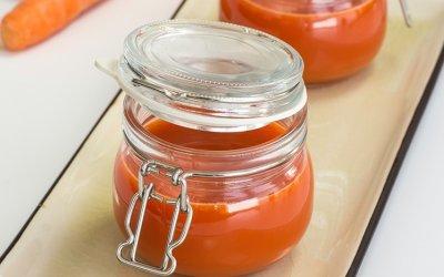 Jus de poivron rouge et carottes