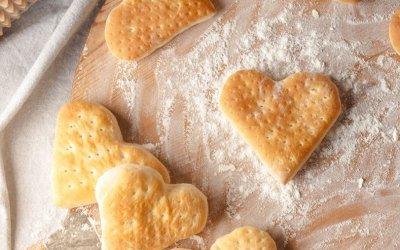 Petits pains cœurs