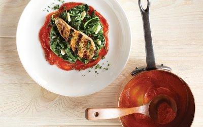 Sauce tomate fraîche
